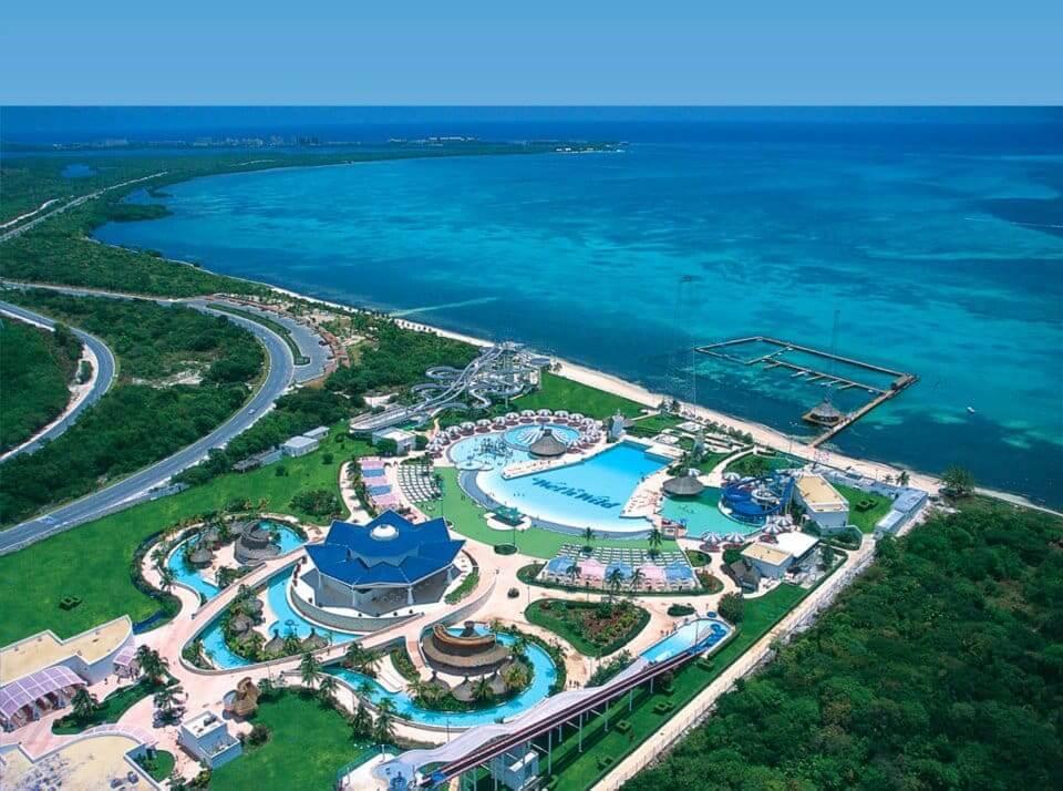 Parque acuático Wet and Wild en Cancún