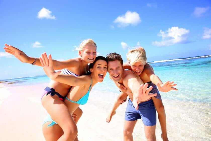 Família en Cancún