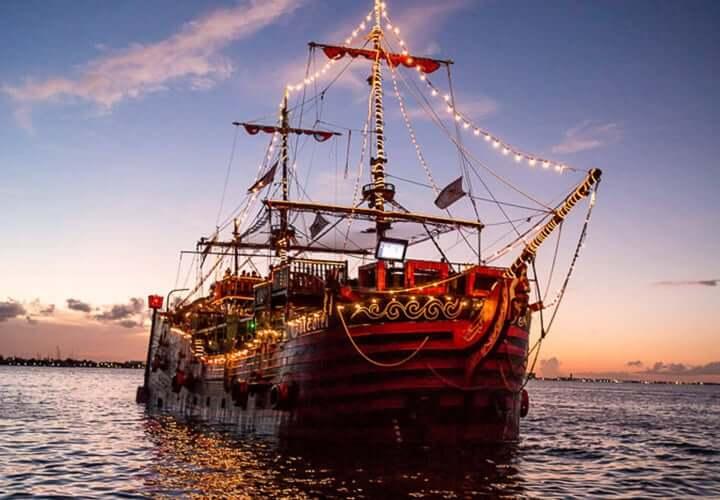 Barco del Capitán Gancho