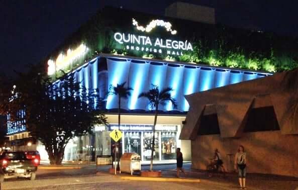 Shopping Quinta Alegria en Cancún