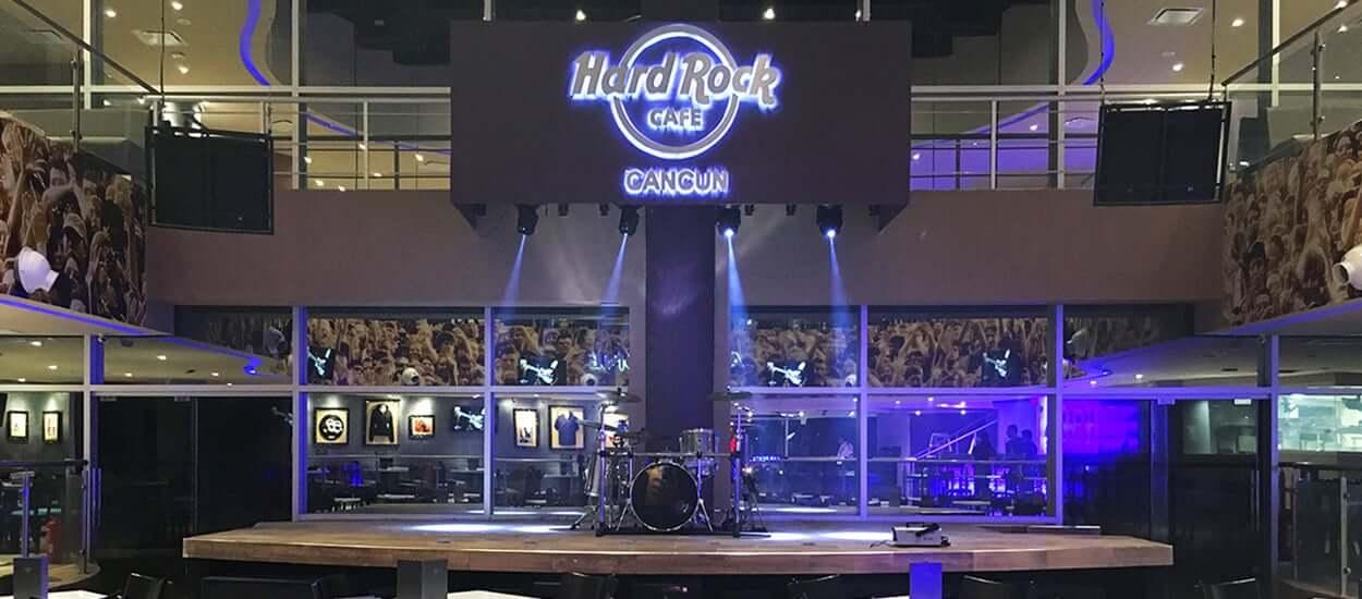 Restaurante Hard Rock Café en Cancún