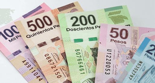 Pesos mexicanos para usar en Cancún