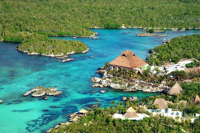 Parque acuático Xel-Há en Cancún