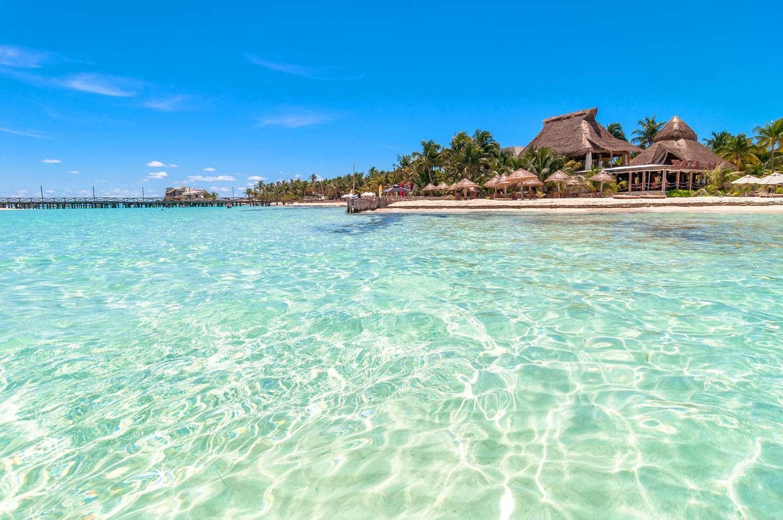 Playa Norte en Cancún