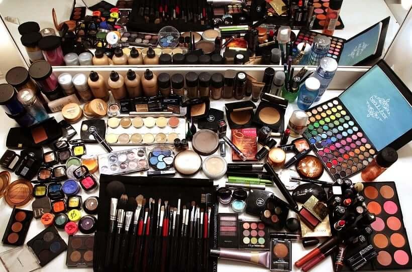 Compras de maquillaje en Cancún