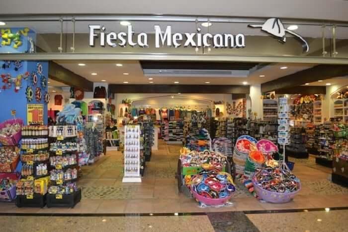 Tienda Fiesta Mexicana para comprar recuerdos y souvenirs en Cancún