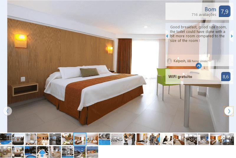 Hotel Ramada Cancun City para hospedarse en Cancún