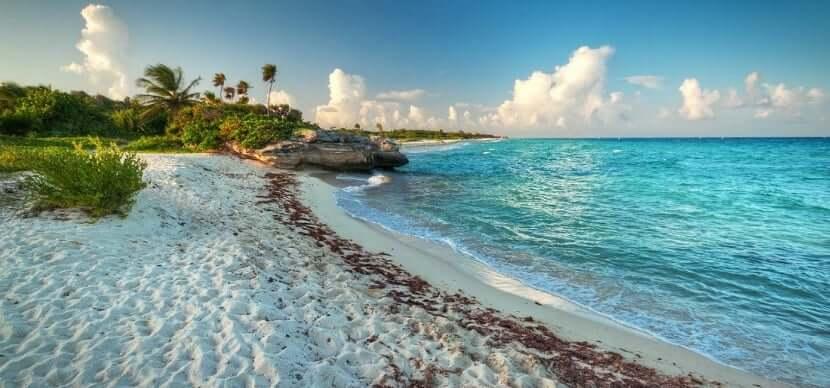 Isla Cozumel en la región turística de Cancún