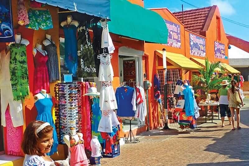 Isla Mujeres para comprar recuerdos y souvenirs en Cancún