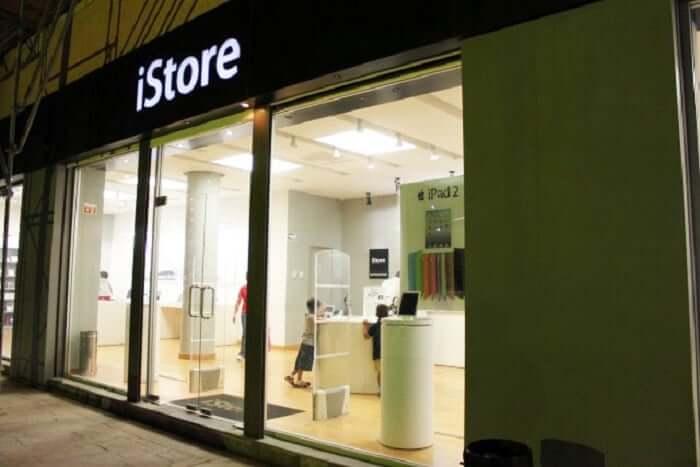 iStore en el Shopping La Isla en Cancún
