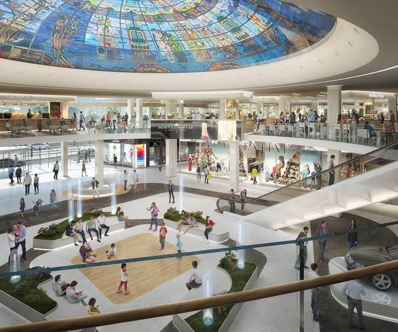 Kukulcan Plaza para comprar calzado en Cancún