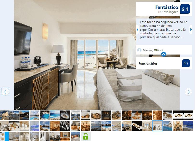 Hotel Le Blanc Spa Resort para hospedarse en Cancún