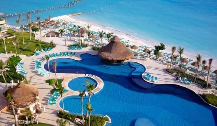 Sugerencia de los mejores hoteles en Cancún