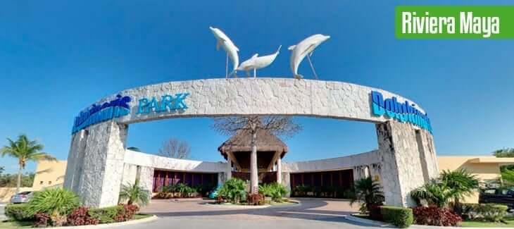 Información sobre el parque Dolphinaris Park en Cancún