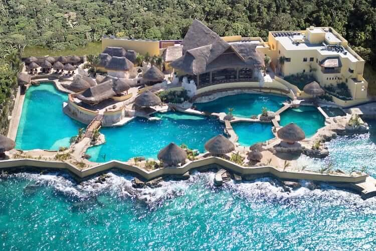 Parque Dolphinaris Park en Cancún