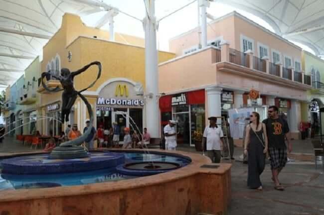 Restaurantes en el Shopping La Isla en Cancún
