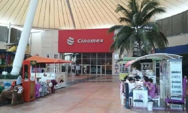 Cinema en Las Plazas Outlet en Cancún