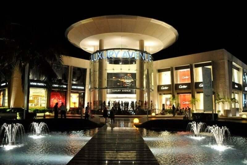 Luxury Avenue en el Shopping Plaza Kukulcan en Cancún