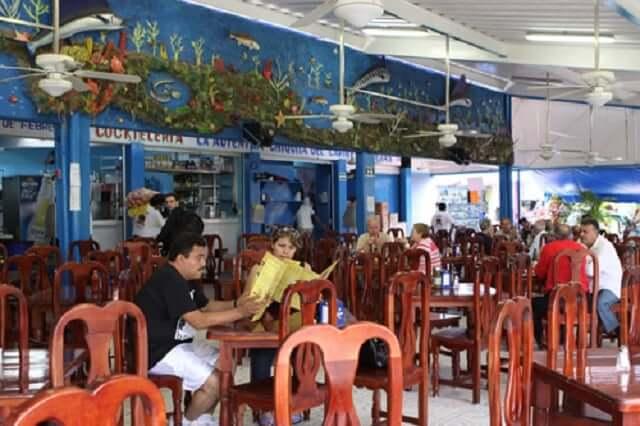 Restaurantes en el Mercado 28 en Cancún