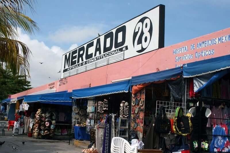 Mercado 28 en Cancún