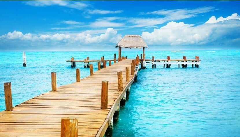 Valor promedio de un pasaje aéreo para Cancún