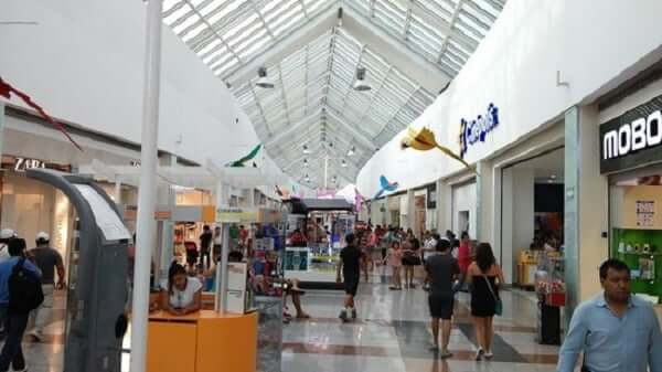 Shopping Plaza Las Americas en Cancún