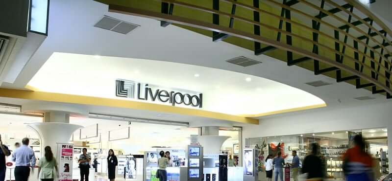 Estructura del Shopping Las Americas en Cancún