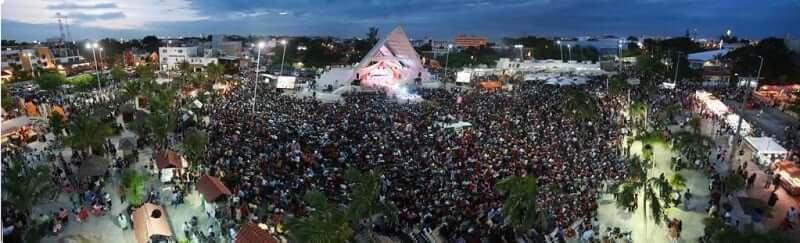 Shows en el Parque de Las Palapas en Cancún