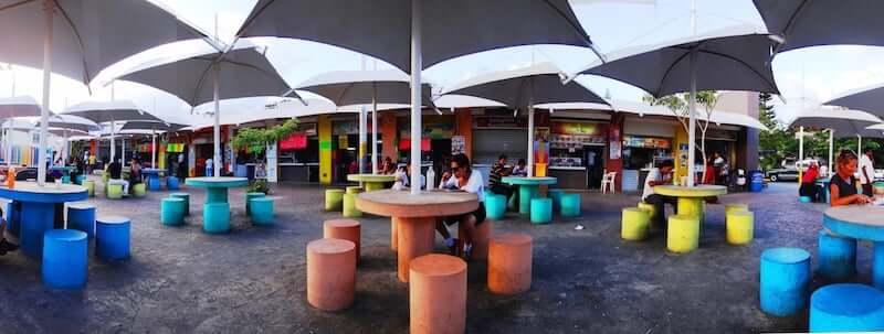 Parque de Las Palapas en Cancún en México