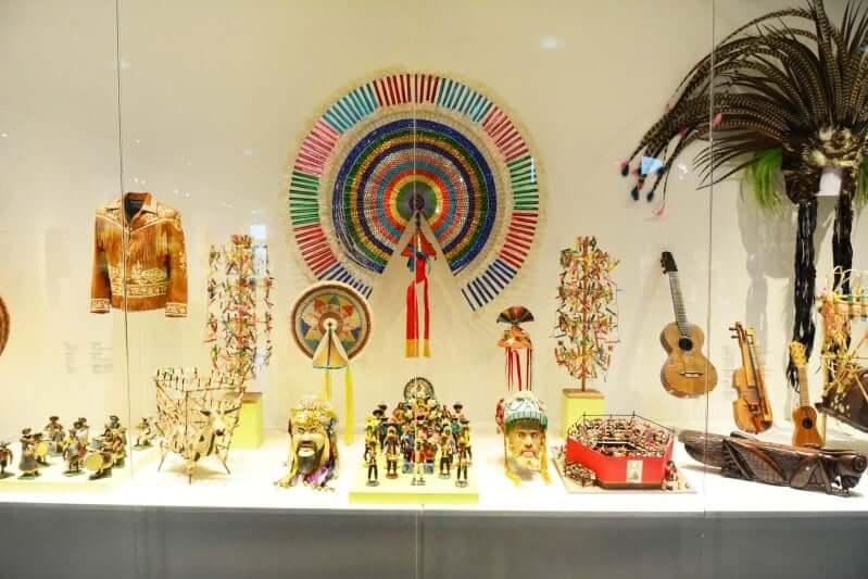 Estructura del Museo de Arte Popular en Cancún