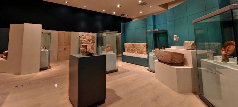 Artefactos del Museo Maya en Cancún
