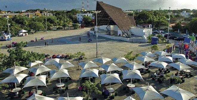 Parque de Las Palapas en Cancún