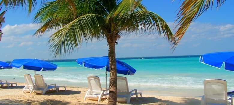Playas en Isla Mujeres en Cancún