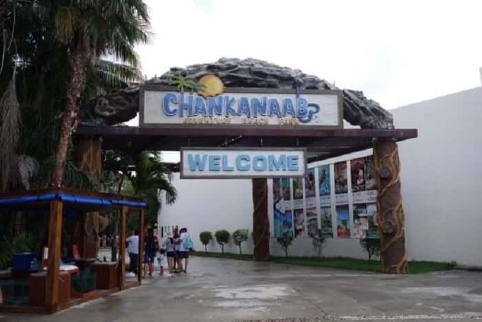 Entrada al Parque Chankanaab Beach Adventure Park en Cancún