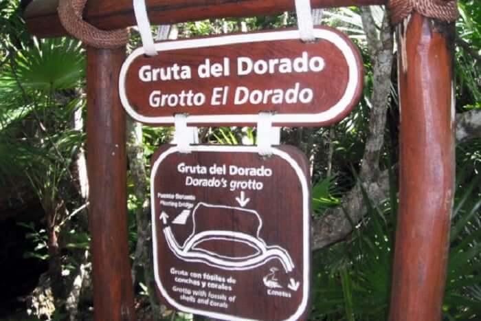 Atracciones en el Parque Xel-Há en Cancún - Grieta Ixchel y Gruta el Dorado