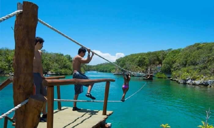 Actividades en el Parque Xel-Há en Cancún