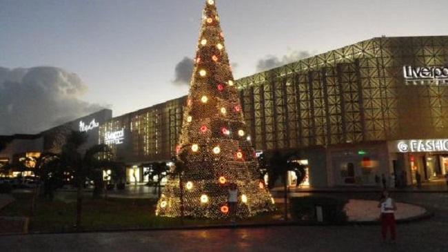 Compras en Navidad en Cancún