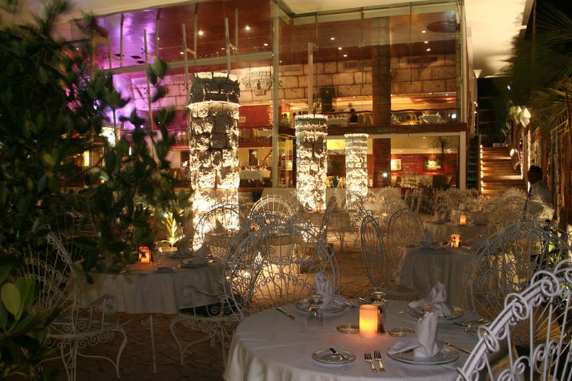 Restaurante La Habichuela Sunset en Año Nuevo en Cancún