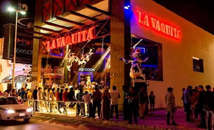 Información sobre el bar y discoteca La Vaquita en Cancún