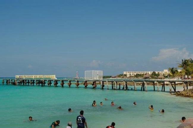 Estructura de Playa Caracol en Cancún