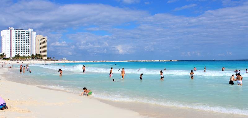 Ubicación de la Playa Caracol en Cancún
