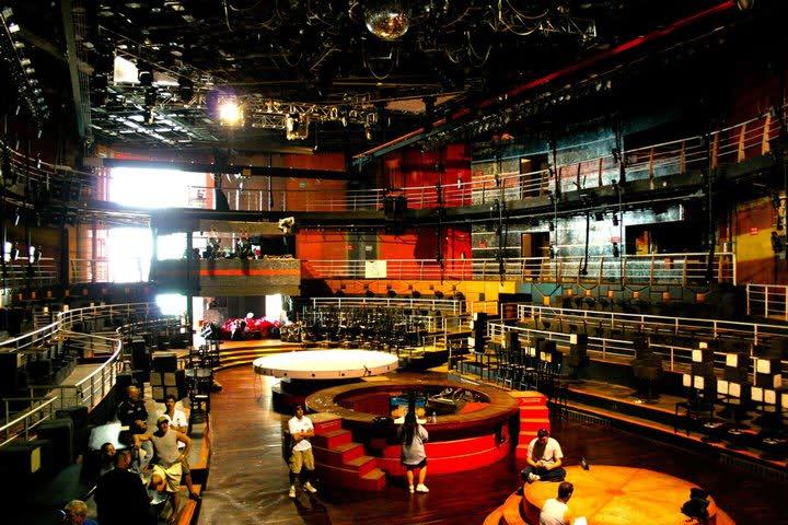 Estructura de la discoteca The City Nightclub en Cancún