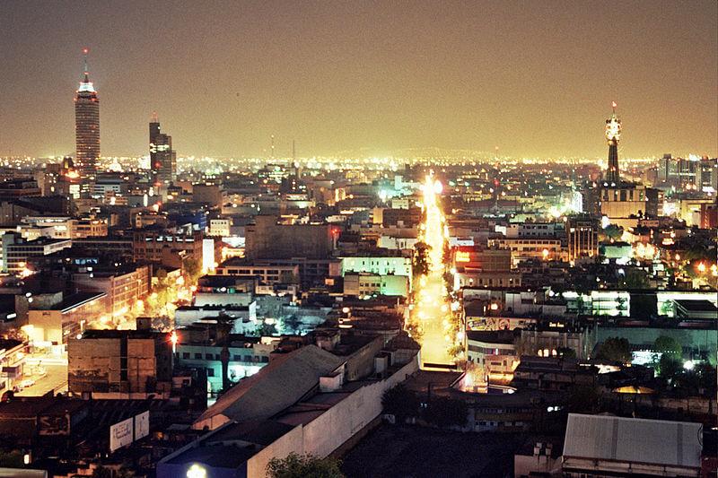 Noche en Ciudad de México