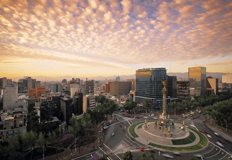 Clima en la Ciudad de México en México