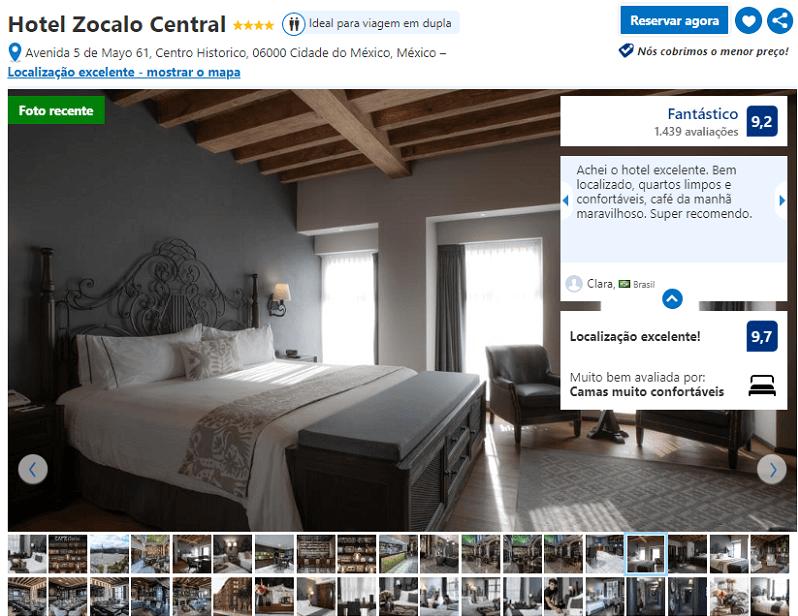 Hotel Zocalo Central para alojarse en Ciudad de México