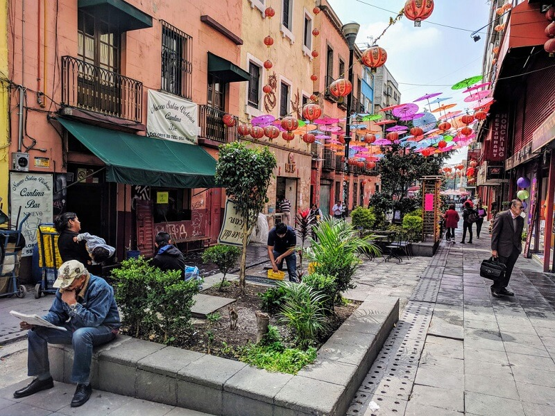 Chinatown en Ciudad de México