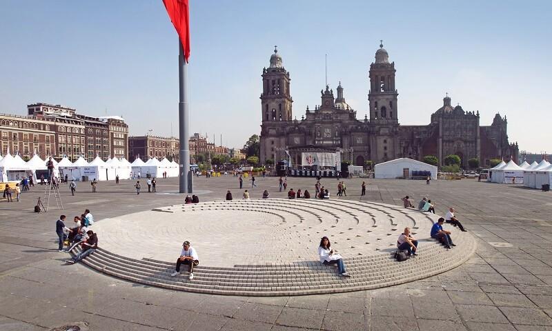 Plaza Zocalo Ciudad de Mexico