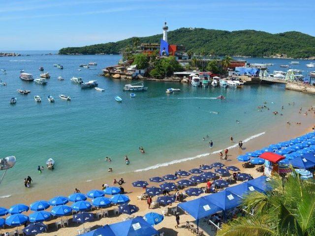 Seguro viaje en Acapulco en México