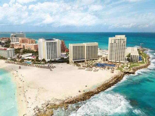 Playa de Punta Cancún en Cancún
