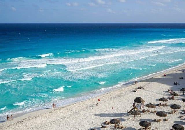 Cancún en Enero